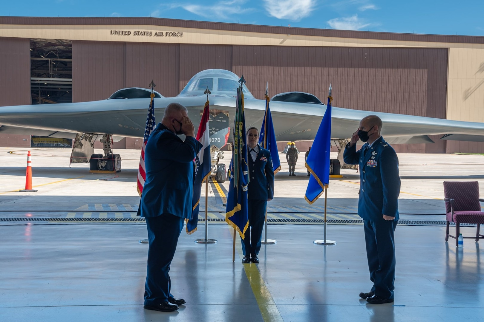 Change of Command 131st BW