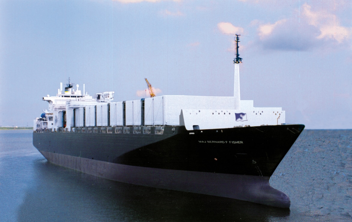 MV Maj. Bernard F. Fisher