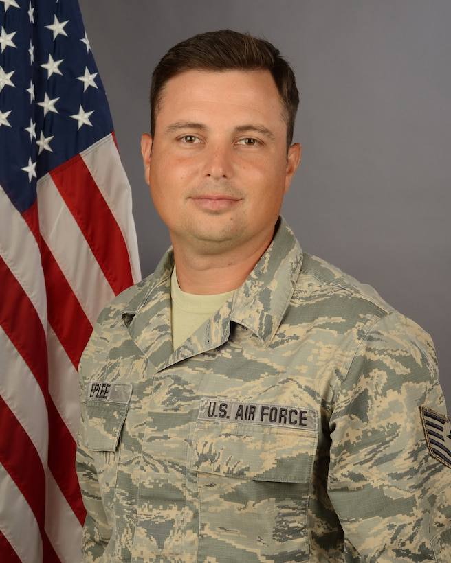 Portrait of  U.S. Air Force Tech. Sgt. Steven Eplee, assigned to the 169th Civil Engineer Squadron at McEntire Joint National Guard Base, S.C., August 1, 2020. (U.S. Air National Guard photo by Senior Master Sgt. Edward Snyder, 169th Fighter Wing Public Affairs)