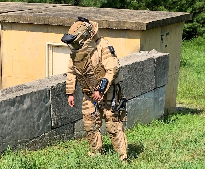 PEO Soldier recently completed the first Human Factors Evaluation with the 52nd Ordnance Group at Fort Campbell, KY where Soldiers assessed the NGABS for two weeks. (Photo by Maj. Justin Bond)