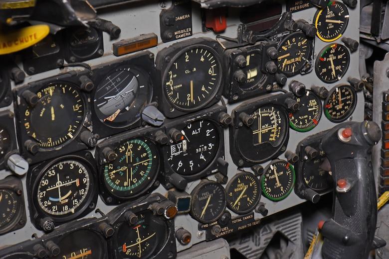 F-100F Cockpit View