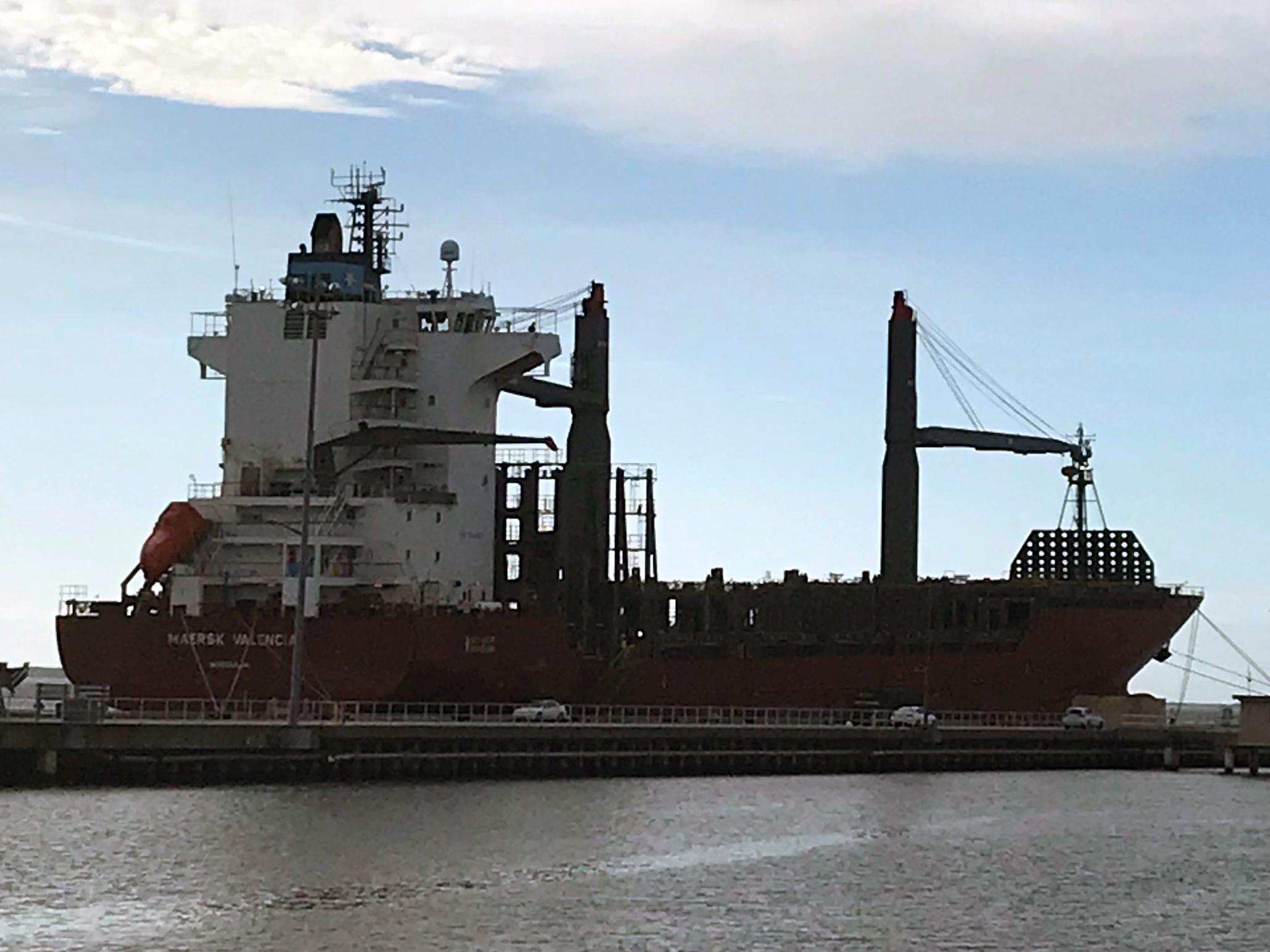 MV Maersk Valencia