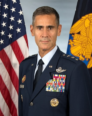 This is the official portrait of Lt. Gen. Marc Sasseville.