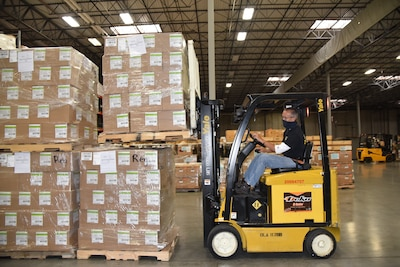 DOD logistics agency to ship 1.5M N95 masks to nursing homes with dwindling supplies