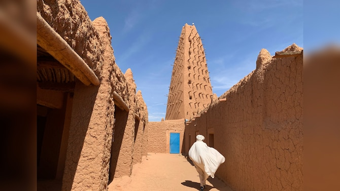 Grand Mosque of Agadez in Niger