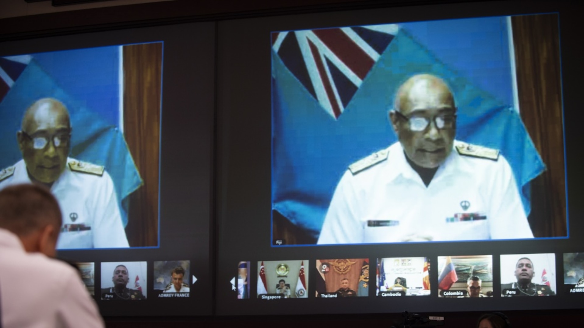 Rear Admiral Viliame Naupoto, Commander Republic of Fiji Military Forces