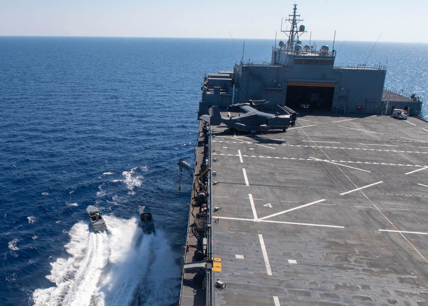 """Combatant Craft Assault (CCA); USS Hershel """"Woody"""" Williams (ESB 4); U.S. Special Operations Forces (SOF)"""