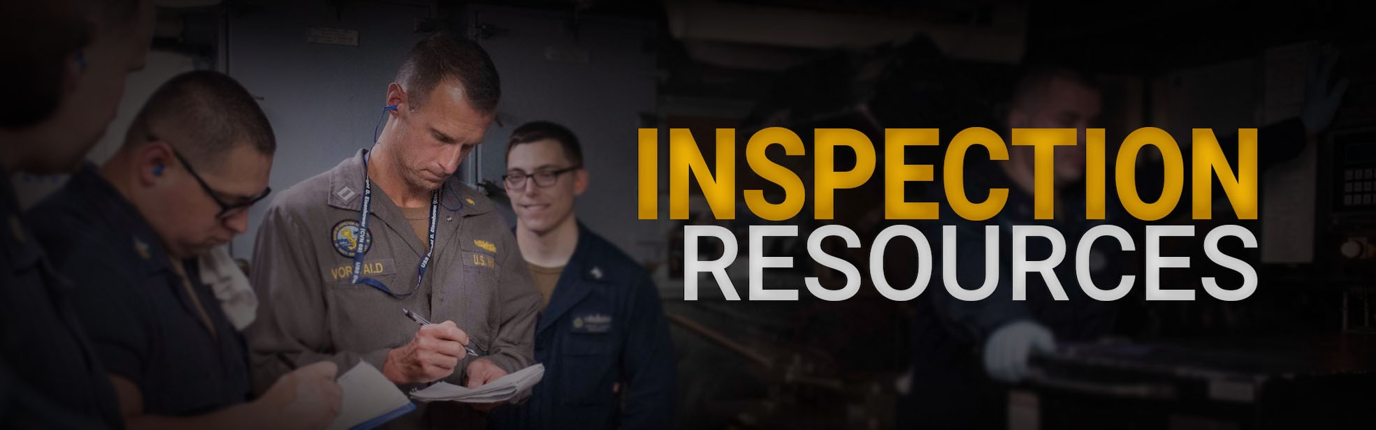 Inspection Resources Banner