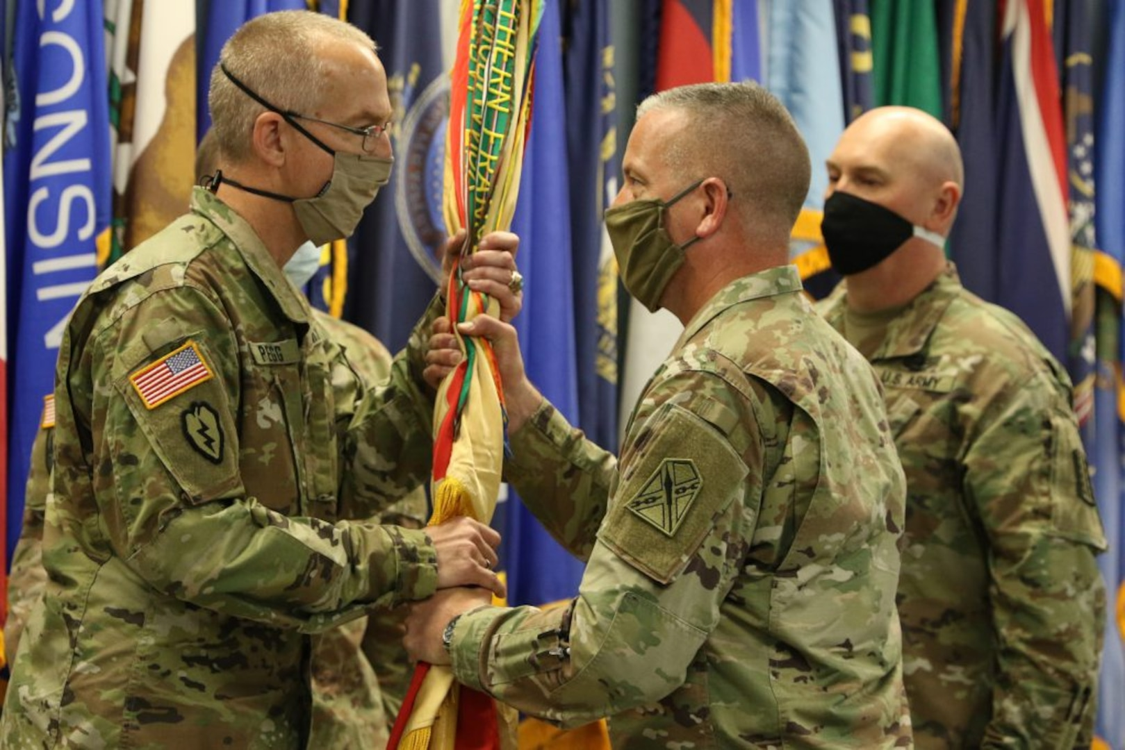 Pegg takes command of 329th RSG