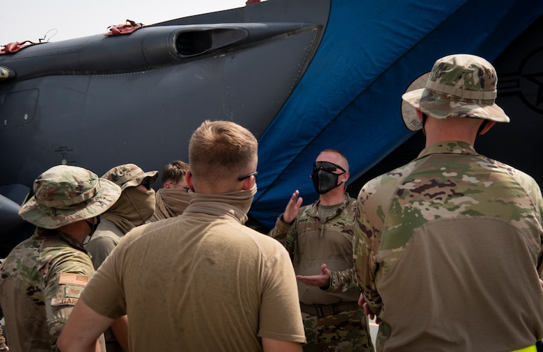 332nd, 379th AEWs work together to expand agile combat employment in AOR