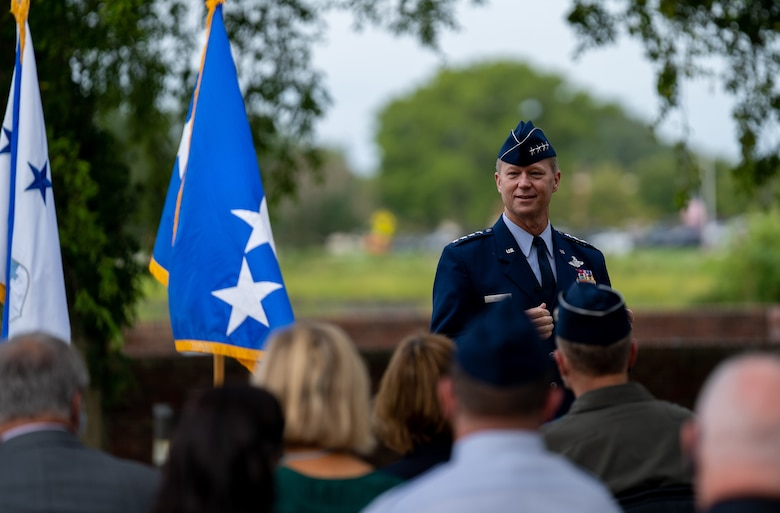 Lt. Gen. being Promotion to General