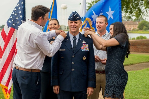 Lt. Gen. being Promotion to General