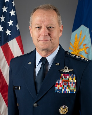 This is the official portrait of Gen. Mark D. Kelly.