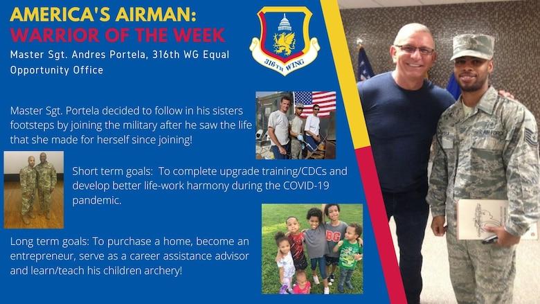 America's Airman: Master Sgt. Andres Portela
