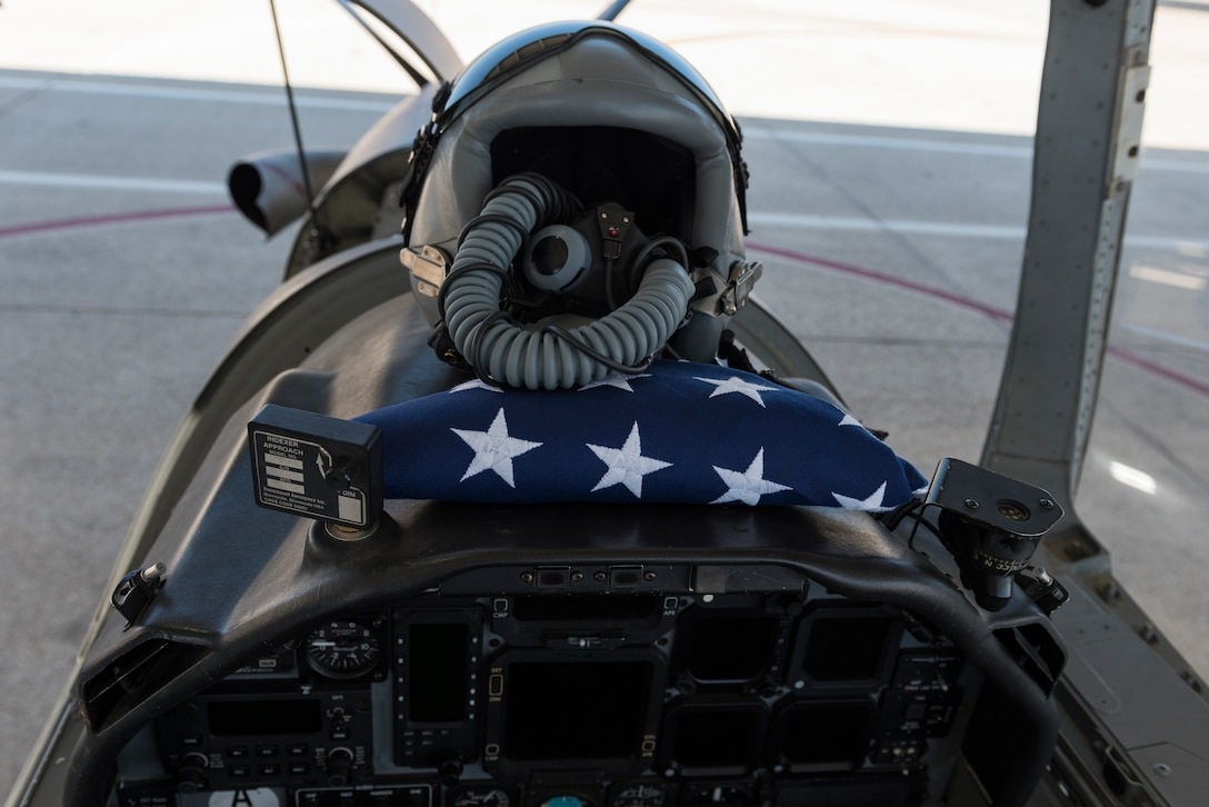 Laughlin pilots honor families of CBP lost to COVID-19 with flag flight