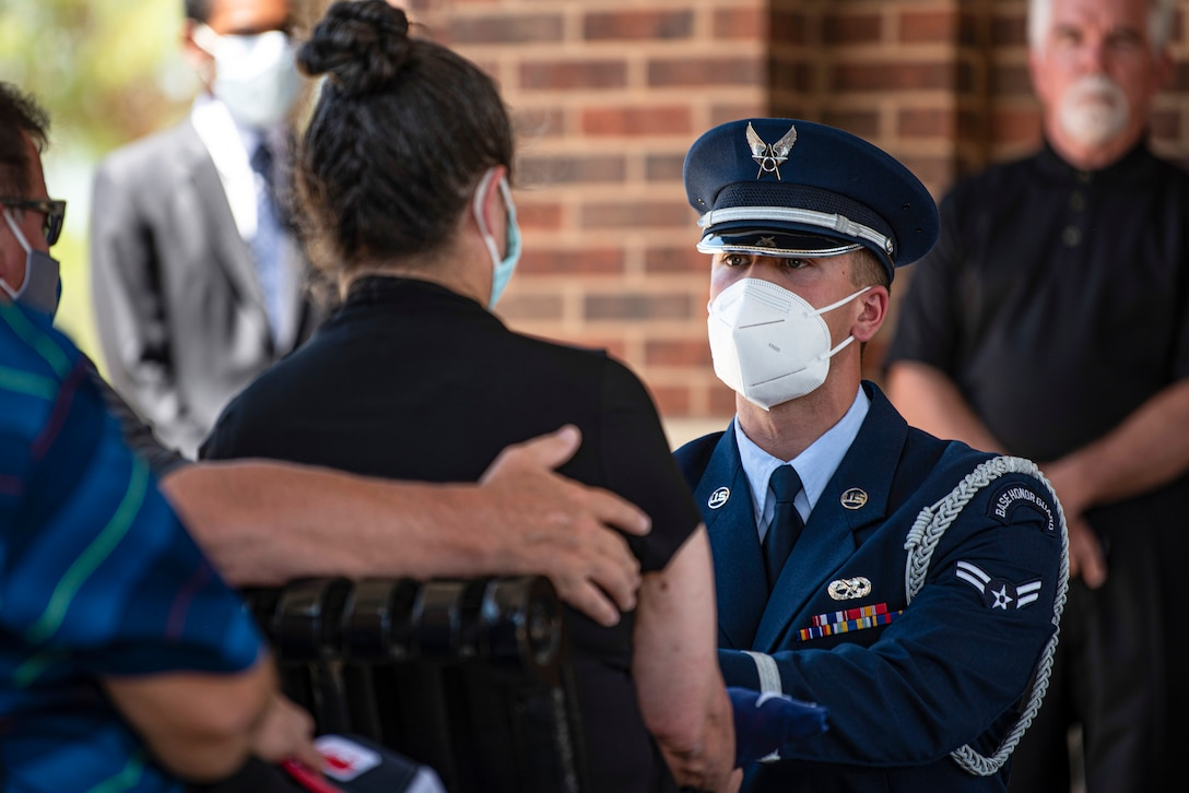 Dyess AFB honor guard; honoring those that served