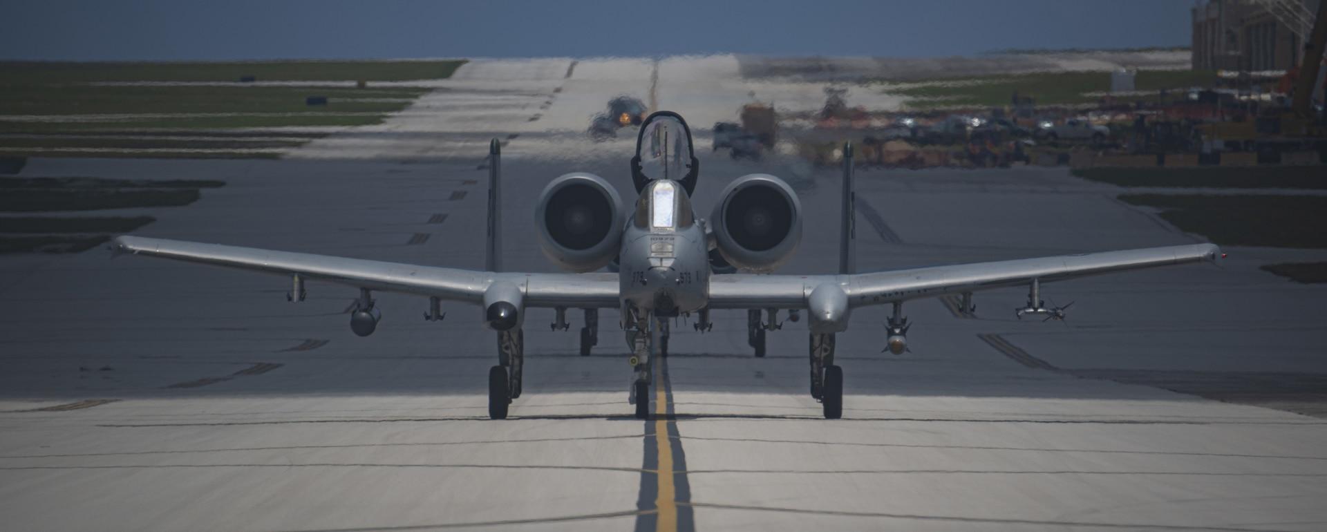 25th FS warthogs fly on Guam