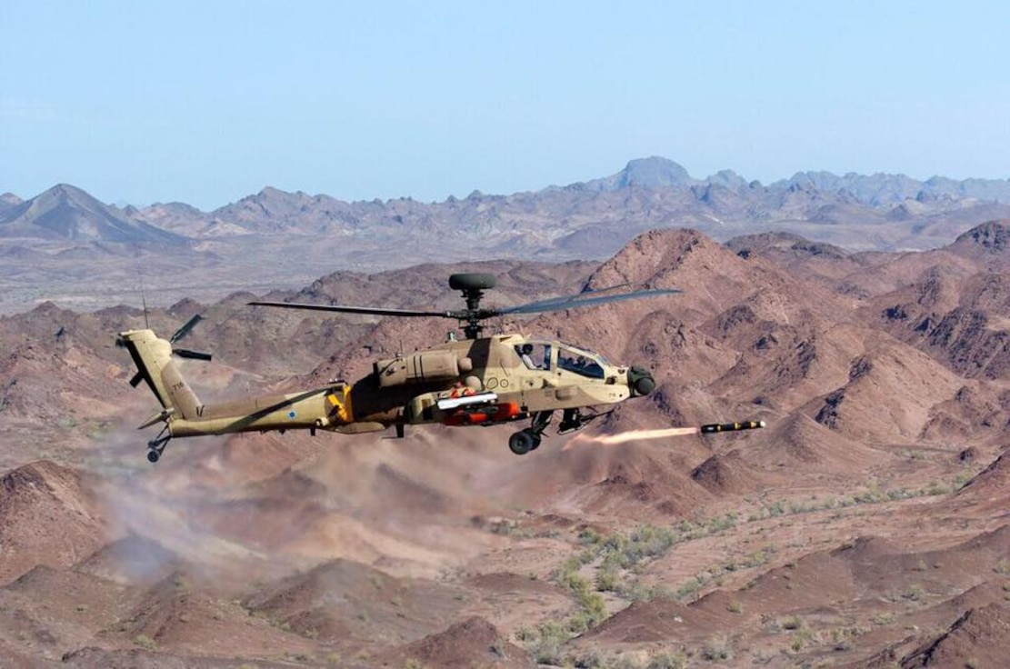 IAF attack helicopter