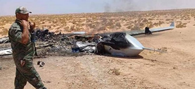Turkish laser shoots down enemy drone in Libya