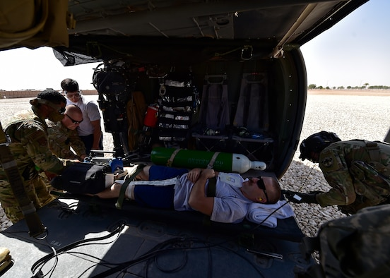 Hoosier DUSTOFF crew conducts MEDEVAC exercise