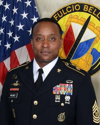 Command Sergeant Major James R. Holmes III