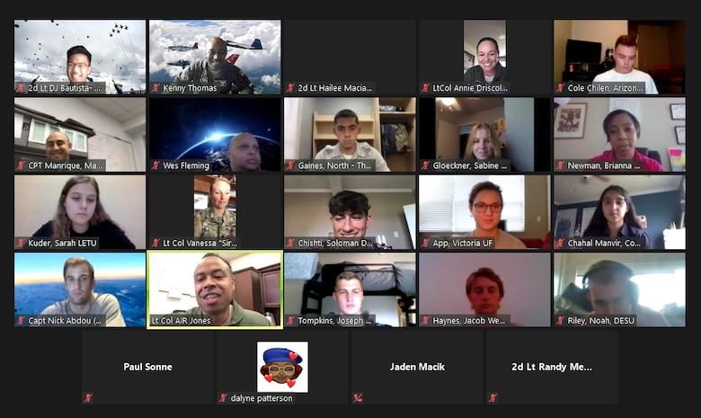 The Air Force Recruiting Service's Detachment 1 hosts the Virtual Aim High Flight Academy.