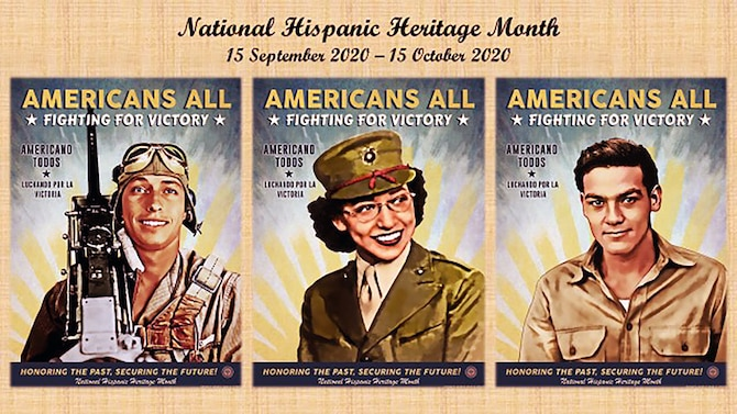 In observance of National Hispanic Heritage Month, which runs from Sept. 15 through Oct. 15, Joint Base San Antonio has released the official National Hispanic Heritage Month poster and the National Hispanic Heritage Month fact sheet.