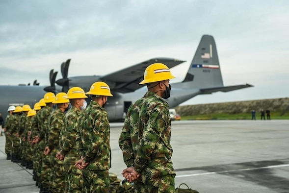 Dyess C-130 provides hurricane relief South America