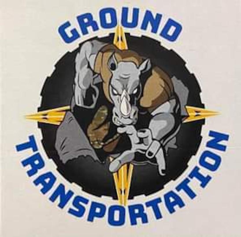 Ground Transportation rhinoceros logo