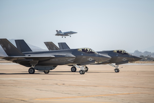 Marine Fighter Attack Squadron (VMFA) 314 declares their initial operational capability (IOC) for the F-35C Lightning II, having met the standards set forth by Headquarters Marine Corps.