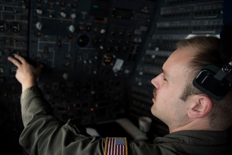 photo of flight engineer