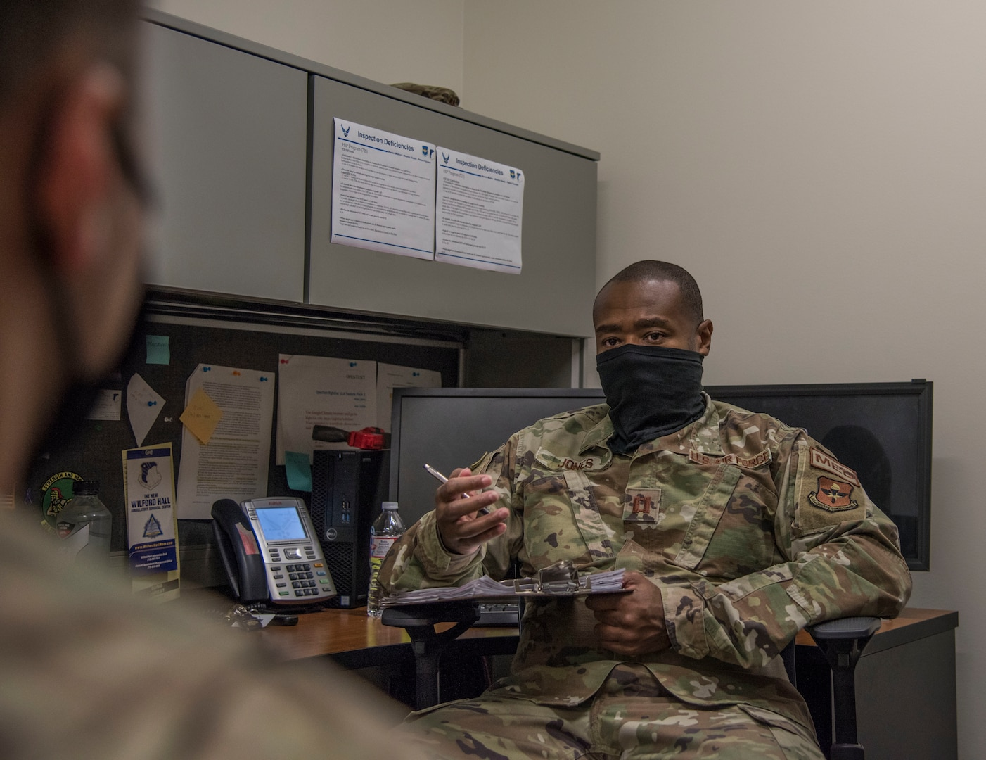 Mental health providers guide patients through challenging times, to include stress or anxiety due to the pandemic, both in person or through telehealth.
