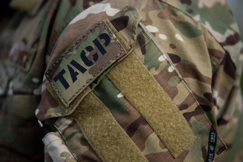 TACP patches sits upon uniform