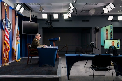 Milley speaks with the Brookings Institute