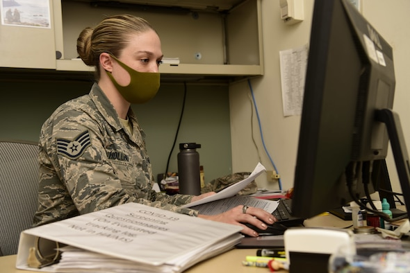 Yokota MDG Counters COVID Cases with Augmentee Program