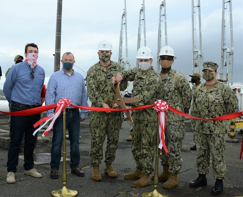 Logistics Center in Yokosuka Completes Three-Year Pipeline Project