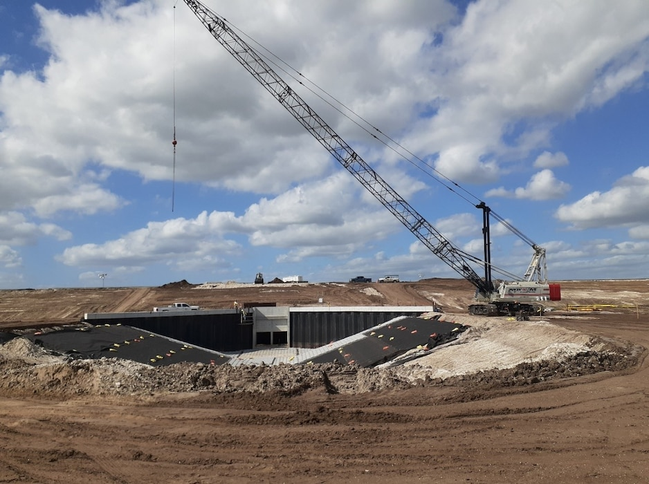 The U.S. Army Corps of Engineers Jacksonville District's multi-billion dollar Indian River Lagoon South (IRL-S) construction of the C-44 component is due for completion June 2021.