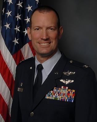 U.S. Air National Guard Colonel Adam G. Wiggins, the 143d Airlift Wing commander, Rhode Island Air National Guard