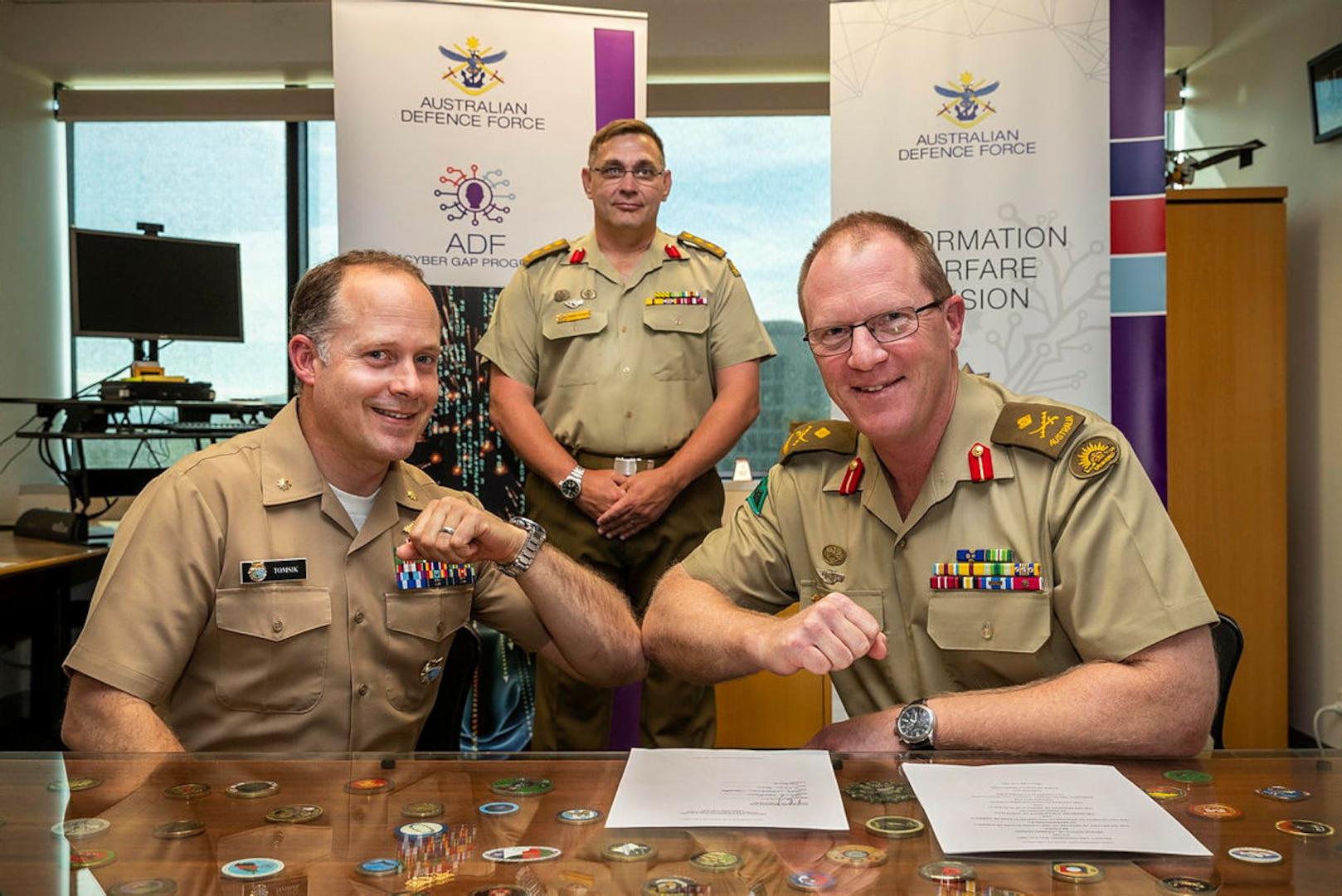 Australian and United States Cyber Training Arrangement