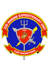 The official command seal for the 22nd Marine Expeditionary Unit.