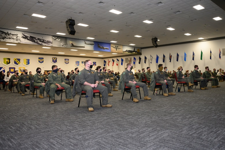Photo of FTU Class 20-02 seated in chairs.