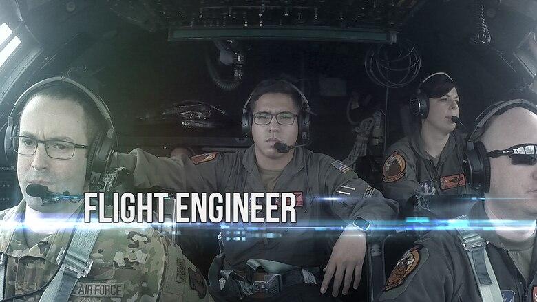 Aircrew on flight deck.