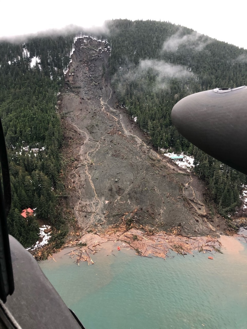 Alaska Army National Guard Assists in Search and Rescue in Haines after Major Landslide