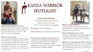 December KANZA Warrior Spotlight