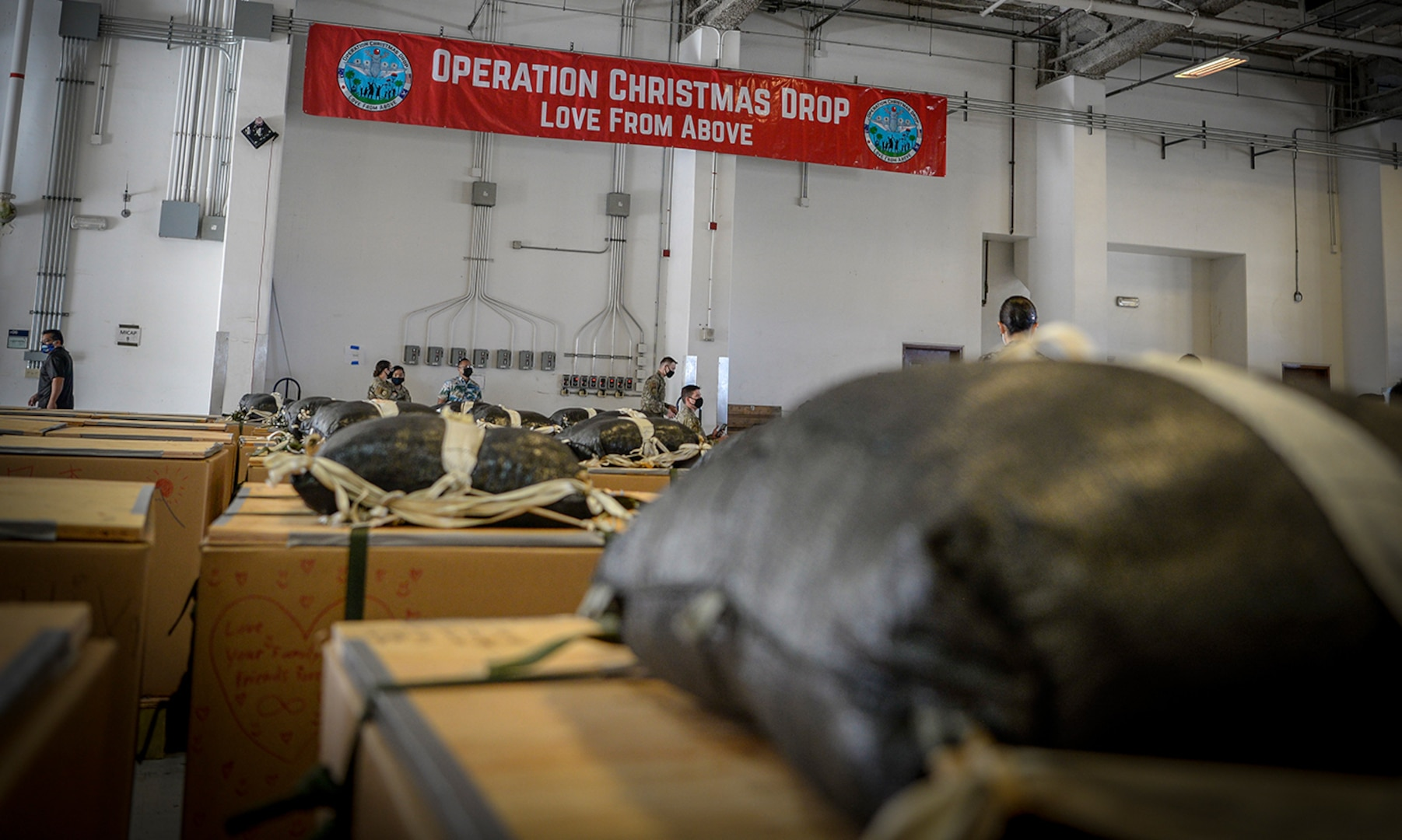 Andersen kicks off 69th Operation Christmas Drop with Push Ceremony