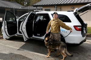 78th Security Forces Squadron receives new K-9 SUV's