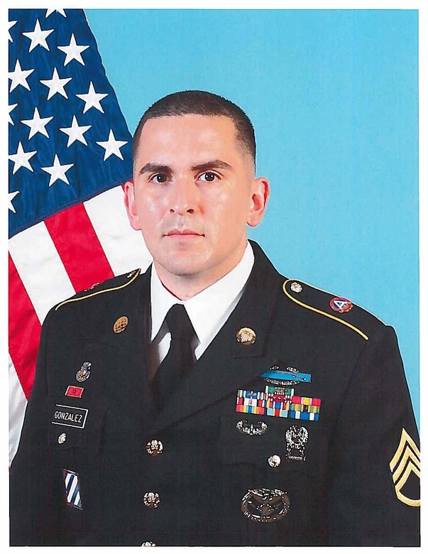 U.S. Army Central leadership congratulated Staff Sgt. (P) Abelardo Gonzalez of Headquarters and Headquarters Battalion, for earning the USARCENT 2020 Career Counselor of the Year title, Dec. 8.  The announcement followed the Army Service Component Command's two-day virtual competition held Dec. 7-8, which featured a packet evaluation to include a previously completed Army Combat Fitness Test, a written examination, and a virtual board.
