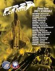 F-22 Demo Schedule 2021