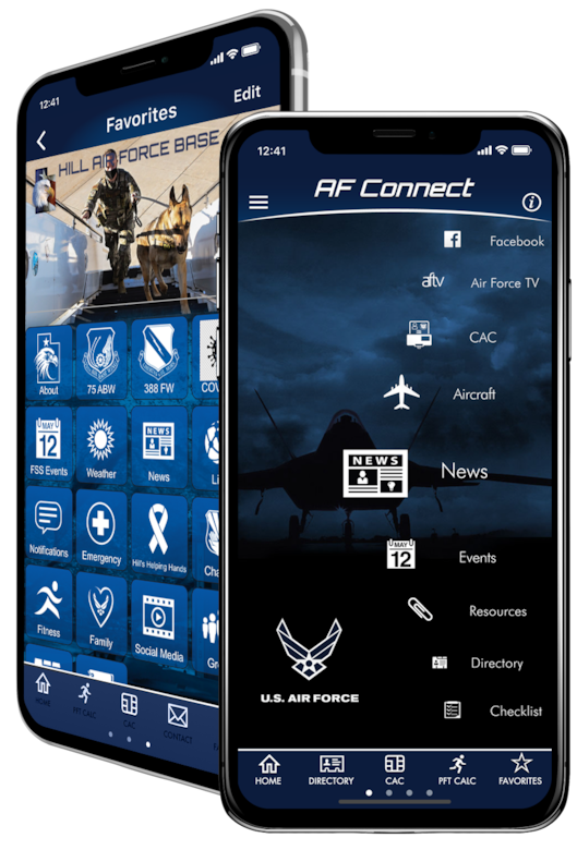 The AF Connect mobile app has undergone several updates to enhance features and improve usability for users, including new and improved communication features such as Groups and instant notifications.