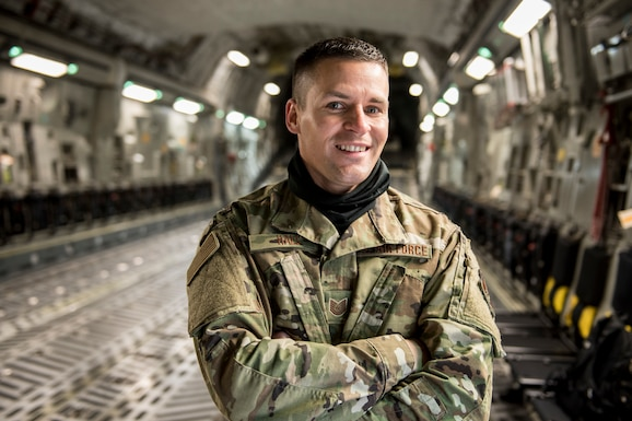 Tech. Sgt. Travis Hall is a crew chief for the 167th Aircraft Maintenance Squadron and the 167th Airlift Wing Airman Spotlight for December 2020.